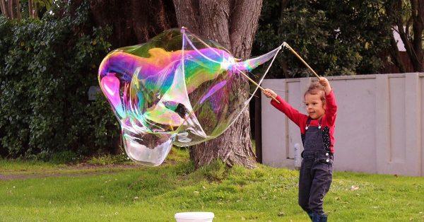 Make Giant Bubbles